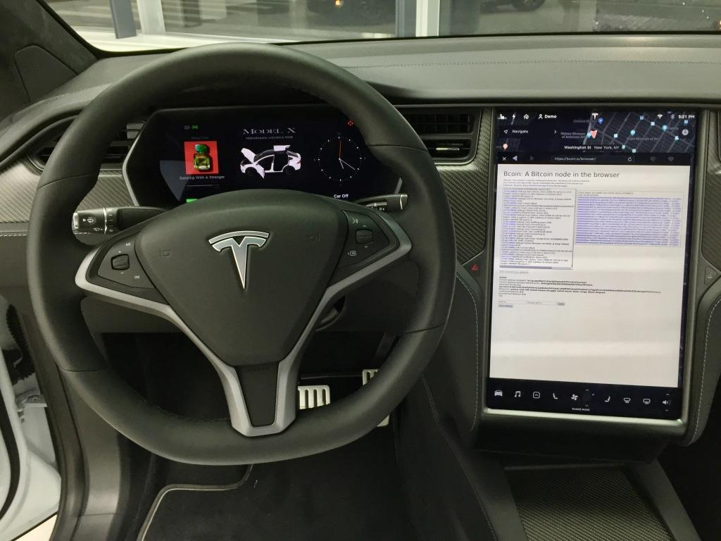 Tesla переходит на биткоин