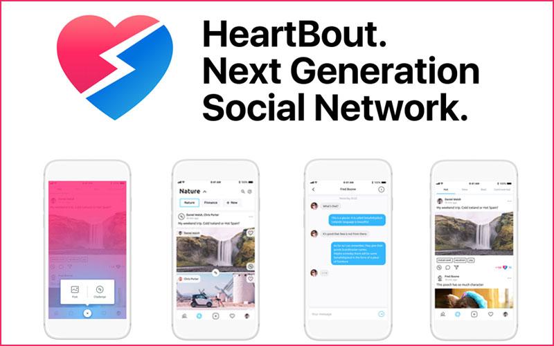 Монетизация активности пользователей в социальной сети нового формата HeartBout, или как заработать на «лайках» и комментариях