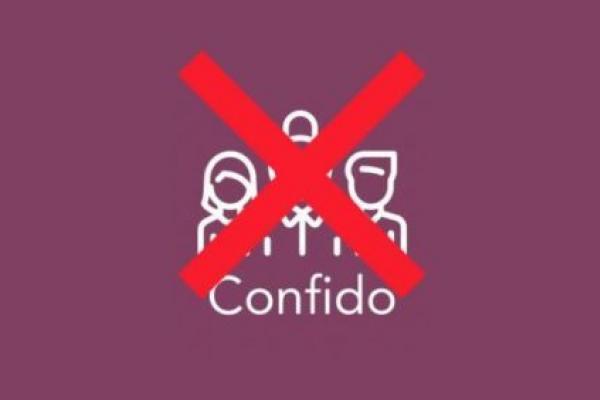 Стартап Confido словно растворился