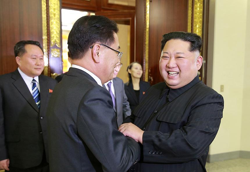 Историческая декларация о мире между Северной и Южной Кореей записана на блокчейне Эфириума