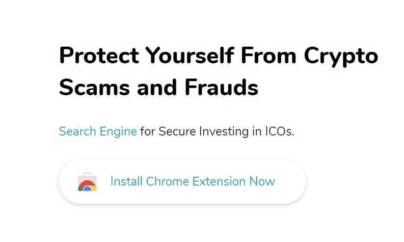 В Google Chrome появилось расширение, проверяющее качество ICO проектов