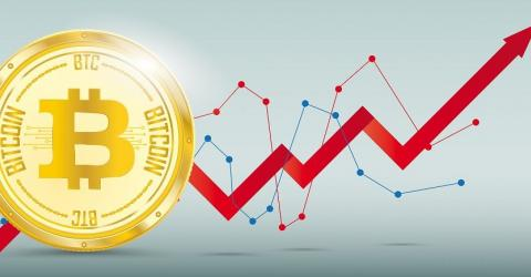 Рынок в ожидании роста: спрос на биткоин превысил показатели конца прошлого года
