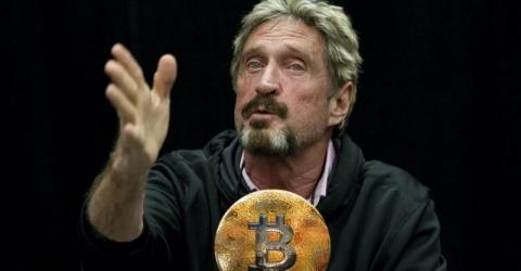 Джон Макафи предсказывает скорый «бычий забег» биткоина