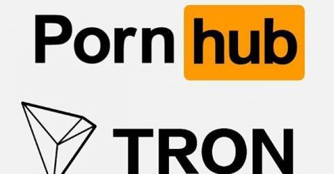 Pornhub начал принимать к оплате TRON