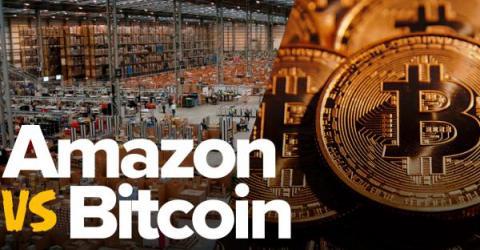 Amazon сдался под натиском криптовалют, чья капитализация достигла $600 миллиардов