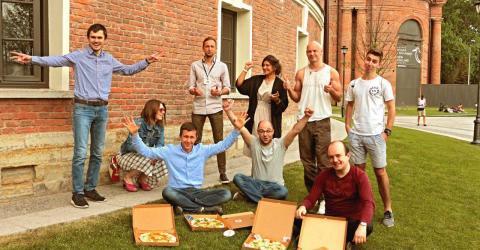 Отмечаем 8-ой юбилей биткоин-пиццы