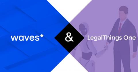 Блокчейн-платформа Waves заключила стратегическое партнерство с компанией LegalThings