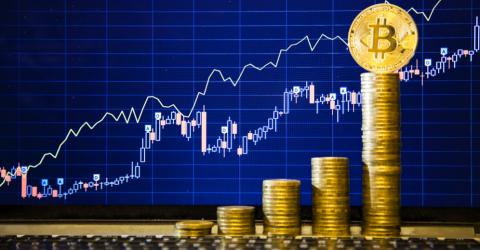 Как изменялся курс Bitcoin с 2009 по 2018