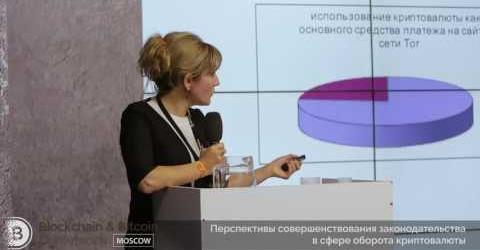 Embedded thumbnail for Перспективы улучшения законодательства в сфере оборота криптовалюты. Элина Сидоренко.