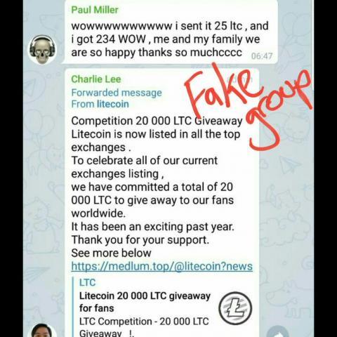 Создатель Litecoin Чарли Ли призвал Дурова изменить принип работы Telegram