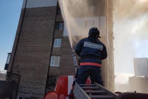 В пожаре в многоэтажке Владивостока могут быть виноваты майнеры